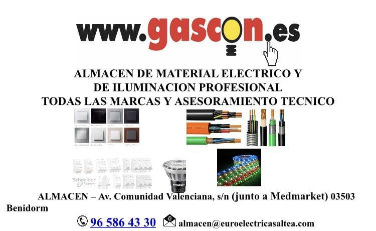 Electricidad GASCON benidorm