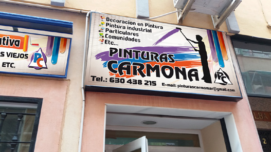 PINTURAS CARMOMAR S.L